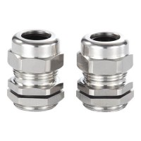 PG7 Stainless Steel Cable Gland - 5pcs